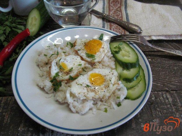 фото рецепта: Яичница из замороженного яйца