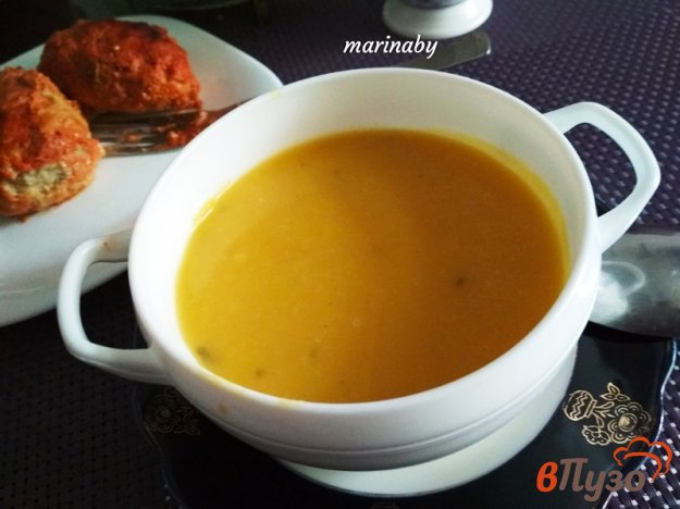 фото рецепта: Крем-суп из тыквы