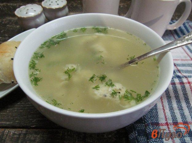 фото рецепта: Быстрый суп с яйцом и сыром