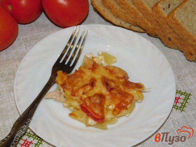 фото рецепта: Куриная запеканка с картофелем