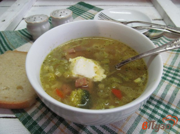 фото рецепта: Сур с копченостями и овощами