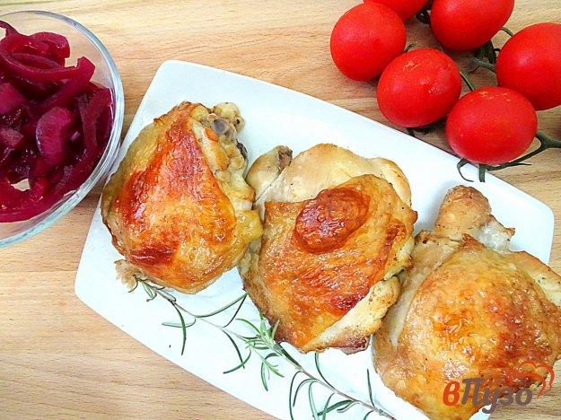 фото рецепта: Куриные бёдра в пивном маринаде