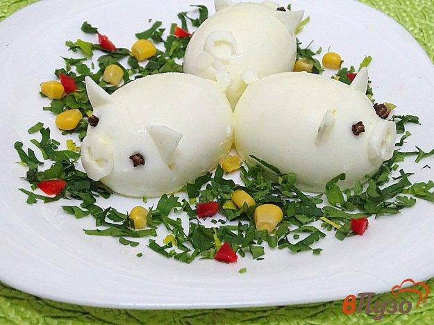 фото рецепта: Фаршированные яйца *поросята*