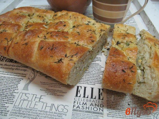 фото рецепта: Пирог на картофельном тесте с консервированным лососем
