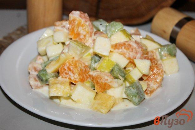 фото рецепта: Фруктовый салат с манго