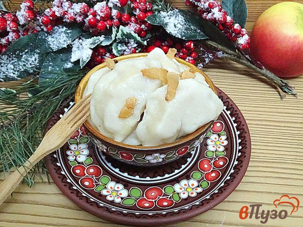 фото рецепта: Вареники с картошкой и луком на заварном тесте
