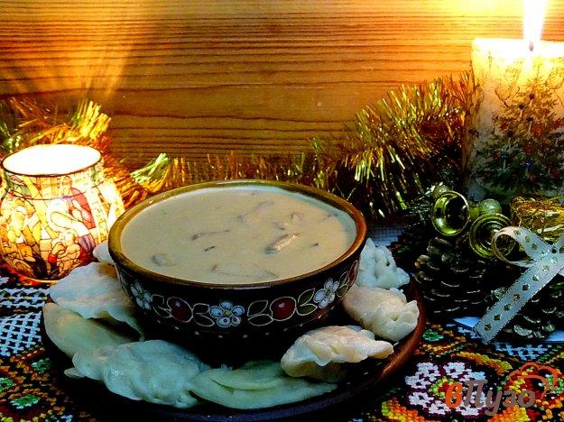 фото рецепта: Юшка грибная Рождественская