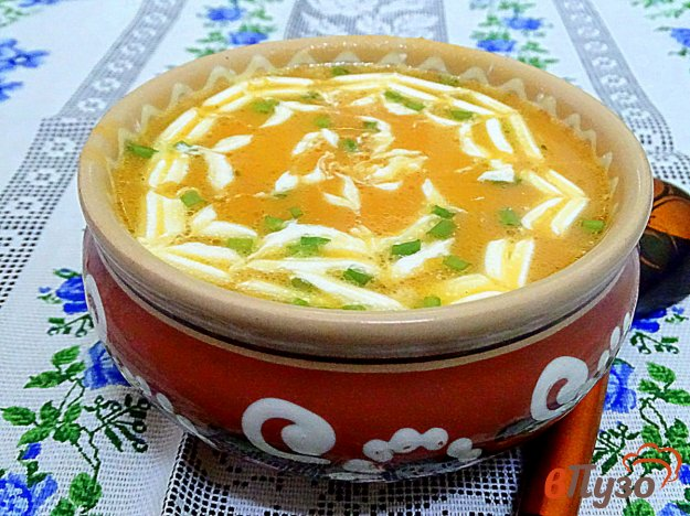 фото рецепта: Суп пюре из тыквы, болгарского перца и картофеля