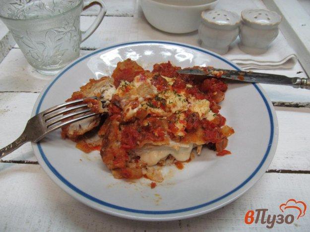 фото рецепта: Фаршированные куриные грудки в соусе маринара