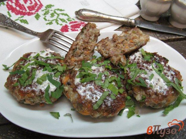 фото рецепта: Мясные котлеты с цветной капустой и морковью