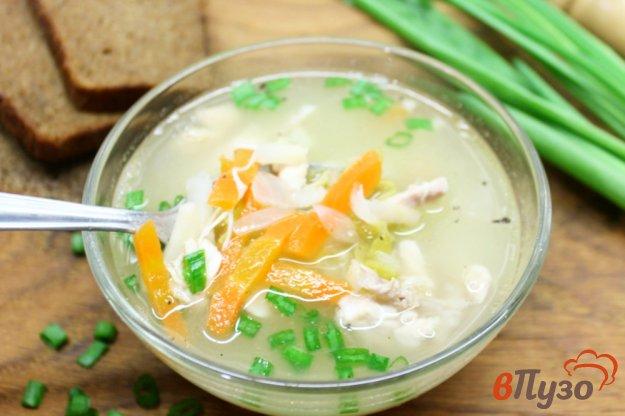 фото рецепта: Суп из цыпленка с горошком