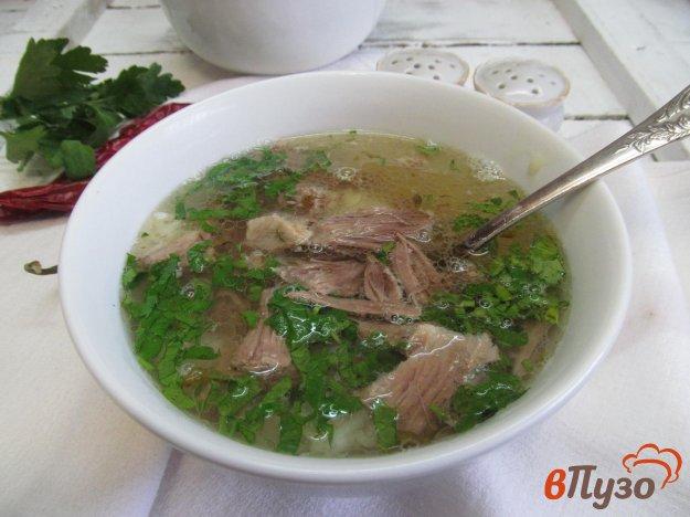 фото рецепта: Вьетнамский суп Фо Бо