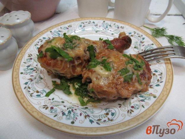 Запеченная курица с маринаде