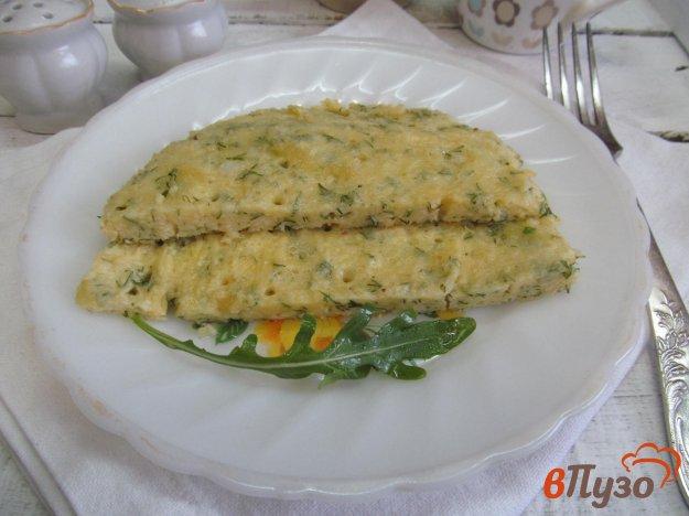 фото рецепта: Сытный омлет со сливками
