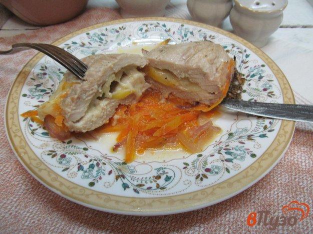 фото рецепта: Запеченное куриное филе с сыром моцарелла