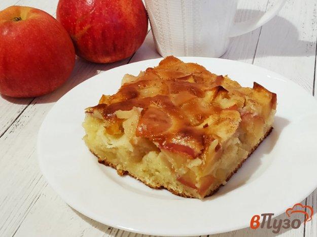 яблочный пирог из ряженки рецепт с фото время, как