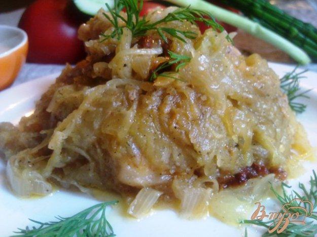 Рецепт Бабка с колбасой по-домашнему