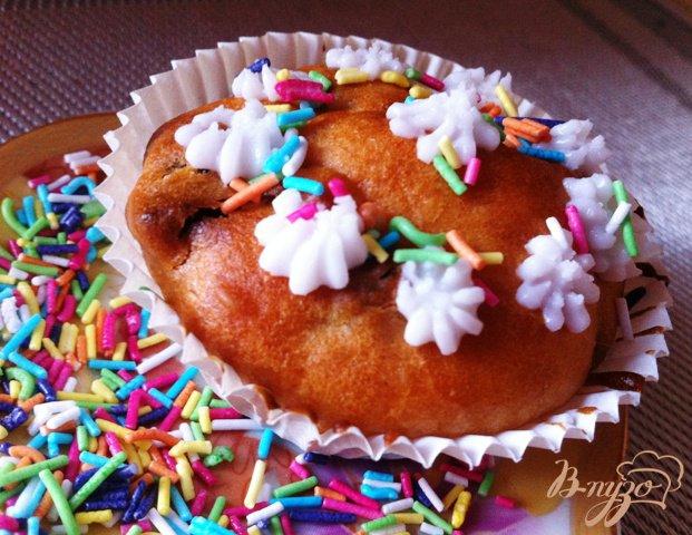 Рецепт Кексики с йогуртом (babeczki)