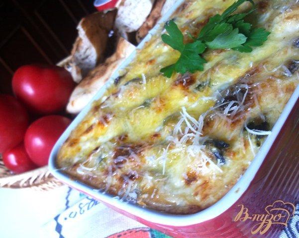 фото рецепта: Мидии в сырном соусе