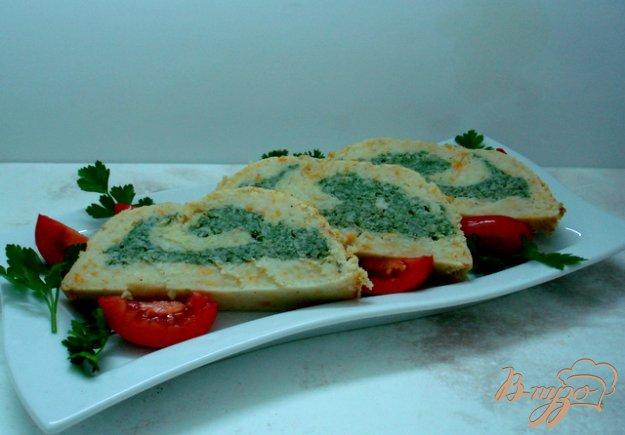 Рецепт Овощной рулет