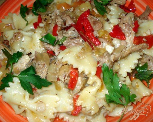 Рецепт Макароны с отварным мясом