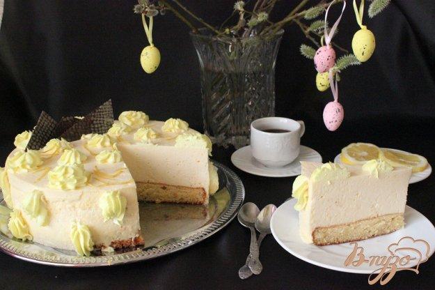 фото рецепта: Нежный лимонный торт