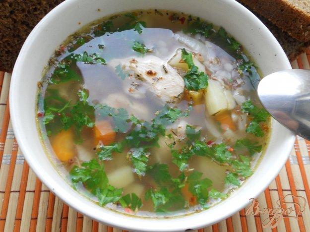 фото рецепта: Гречневый суп с куриным филе