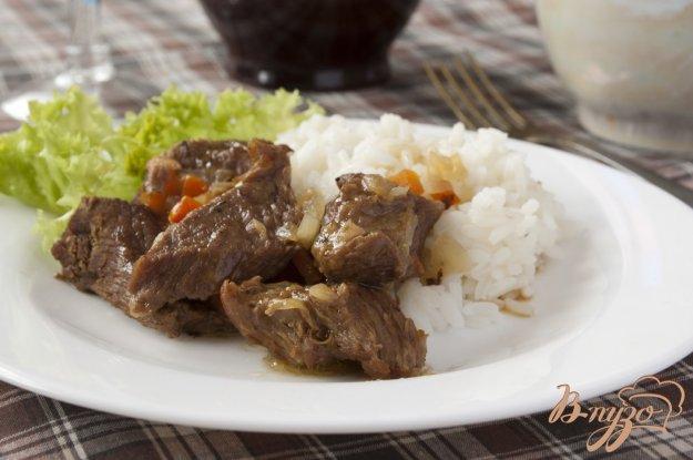 фото рецепта: Мясо тушеное