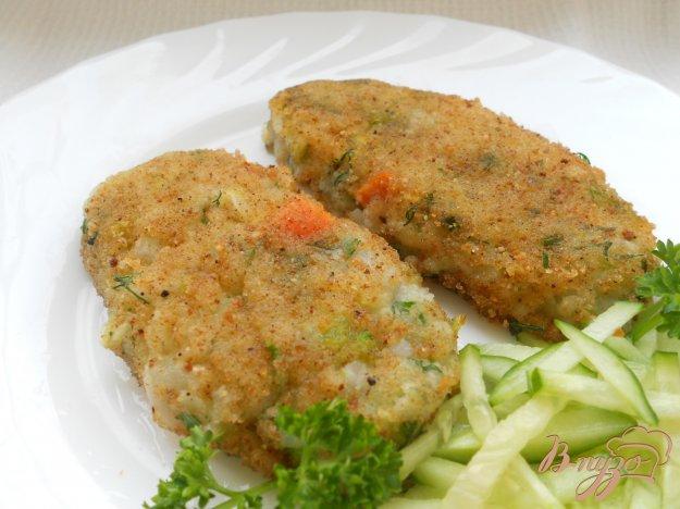 Рецепт Котлеты из риса и картофеля с овощами