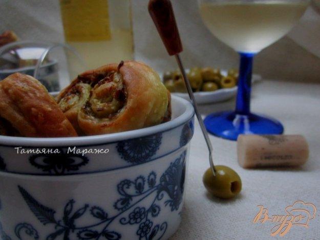 Рецепт Закусочные ушки с оливками
