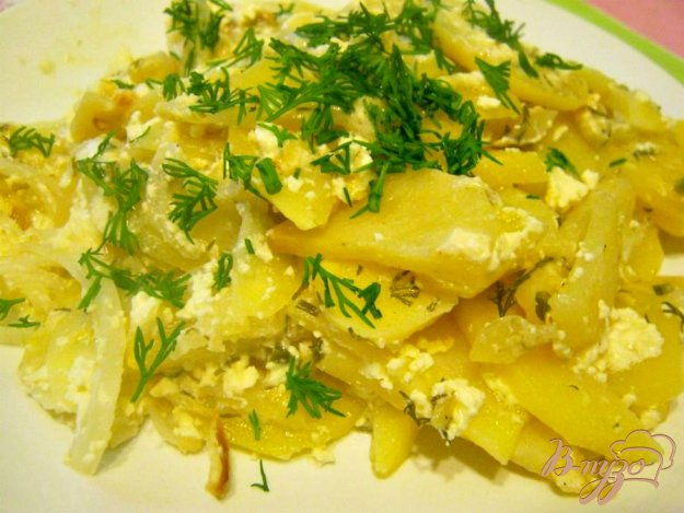 Рецепт Картофель со сметаной в горшочке