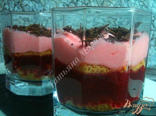 Рецепт Сливовый десерт с сыром маскарпоне