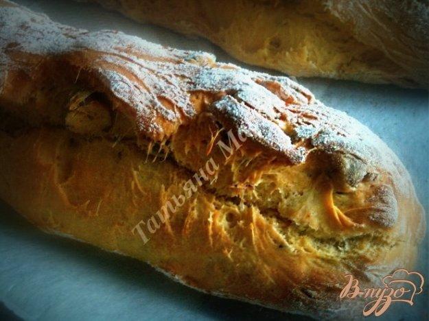 Рецепт Багет с паприкой и лесным орехом