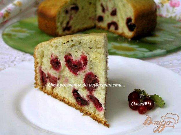 Рецепт Воздушный пирог с вишней