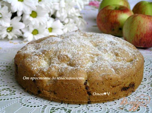Рецепт Шарлотка с яблоками (постная)