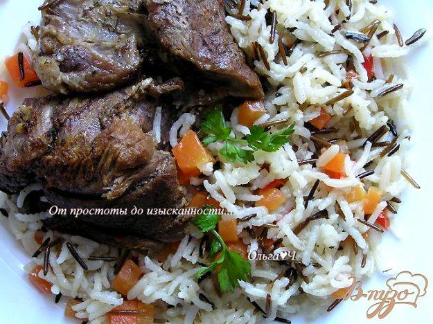 Рецепт Телятина с рисом (в мультиварке)
