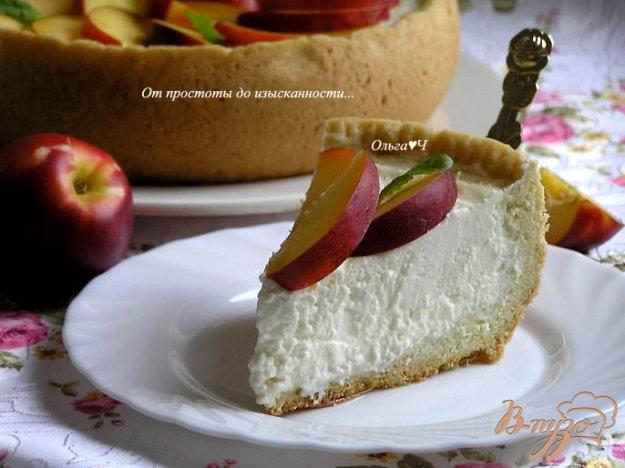 Рецепт Творожный чизкейк (в мультиварке)