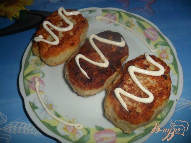 Рецепт Картофельные пирожки с сыром