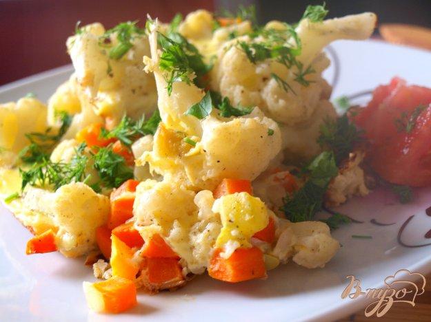 Рецепт Омлет с цветной капустой и кабачками