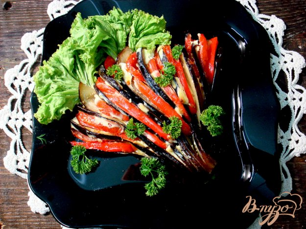 фото рецепта: Баклажановые веера