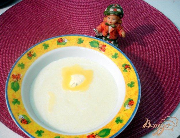 Рецепт Каша из манной крупы на молоке.