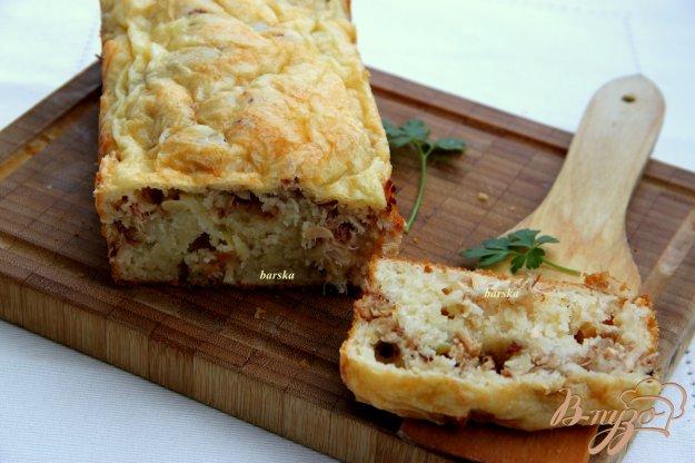 Рецепт Заливной кекс с мясом