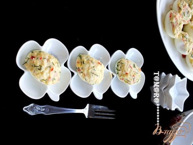 фото рецепта: Закуска из фаршированных яиц