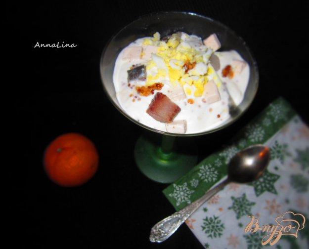 фото рецепта: Коктель-закуска с селедкой