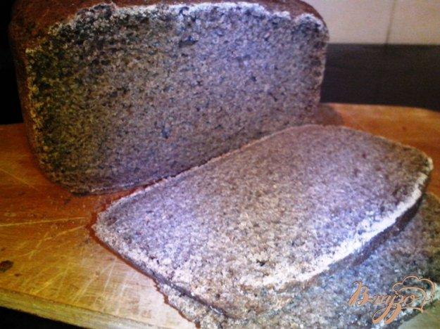 фото рецепта: Чёрный хлеб на закваске с солодом и кориандром в хлебопечке