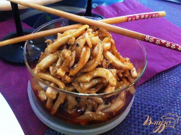 фото рецепта: Хе из кальмаров по-корейски