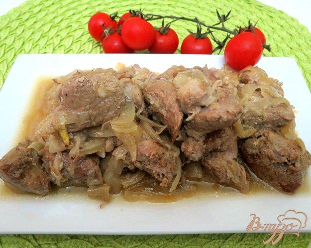 Свинина с луком пошаговый рецепт с фото