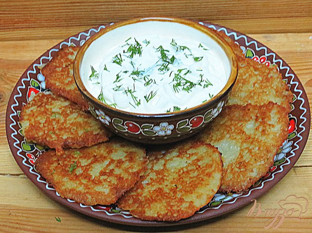 Деруни з картоплі рецепт з фото