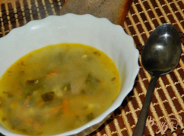 фото рецепта: Суп с щавлем