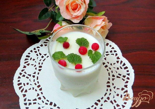 фото рецепта: Кисель молочный